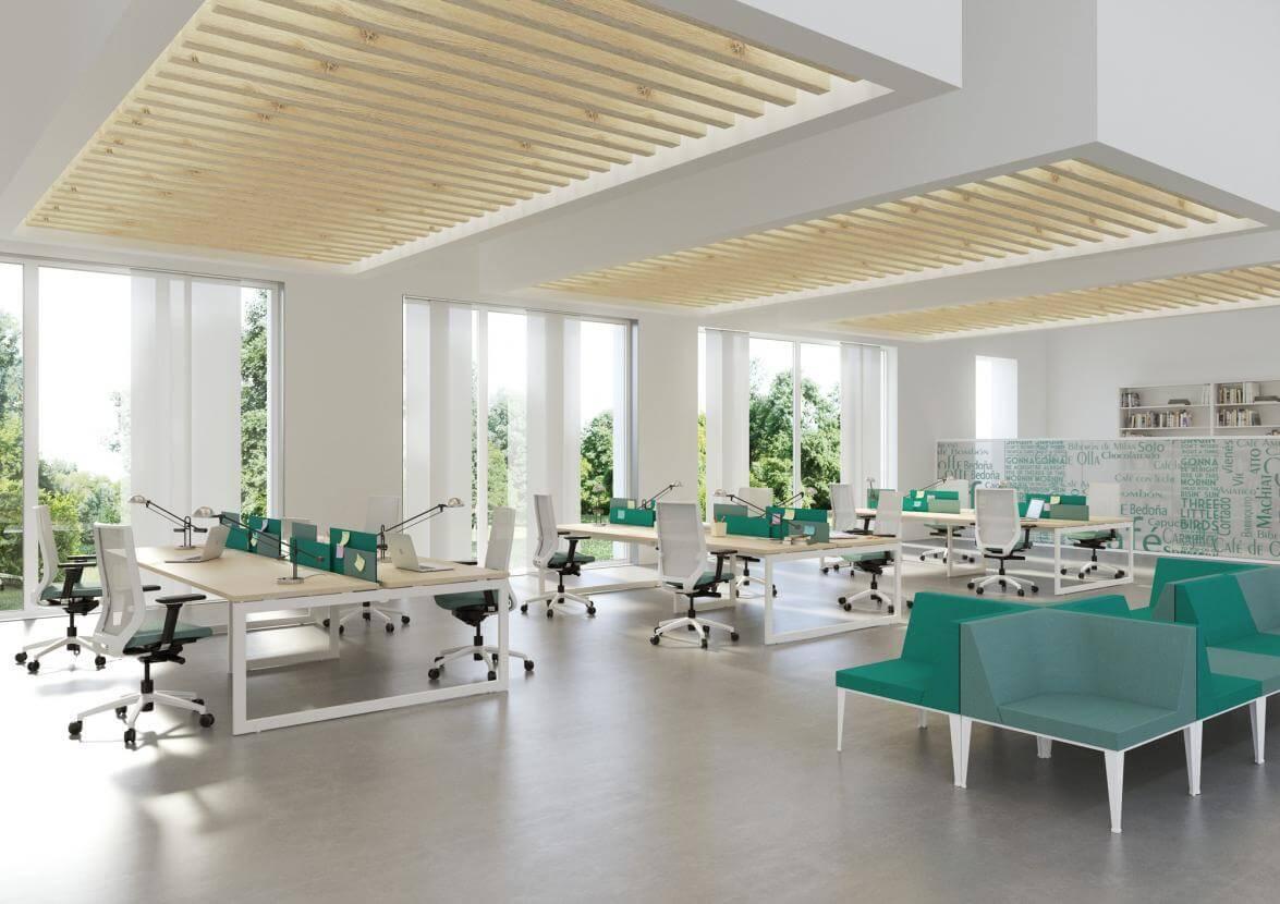 Mobiliario para puestos operativos espais integrals for Proveedores de mobiliario de oficina